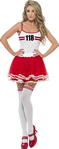 smiffys-womens-marathon-woman-instant-kit-top-tutu-and-thigh-high-stockings-size-m-colour-red-and-wh