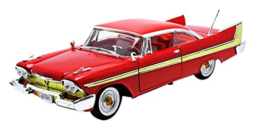 motormax-73115r-plymouth-fury-1958-echelle-1-18-rouge