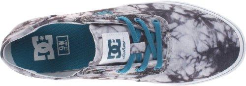 DC - Gatsby 2 Se J Shoe Boc, Sneaker Donna Grigio (Grau (BLACK/OCEAN))