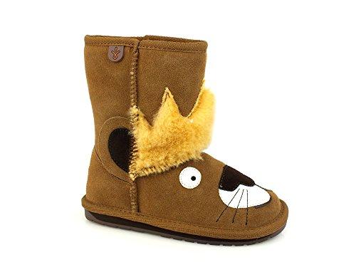 EMU Leo Lion Baby Boots Suede Leather Chestnut Brown K11429