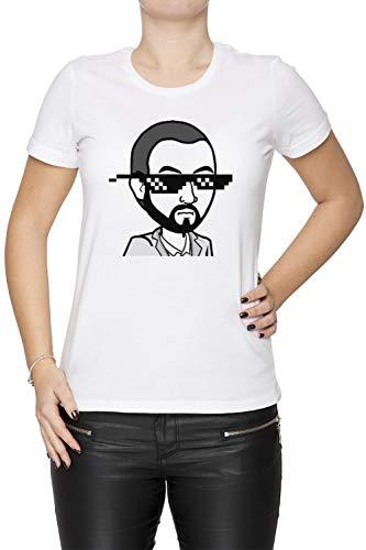 MudRacing Sonnenbrille - Mudracing Damen T-Shirt Rundhals Weiß Kurzarm Größe XS Women's White X-Small Size XS