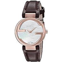 Gucci Interlocking – Reloj de Pulsera analógico para Mujer ... 0f94fe438ba