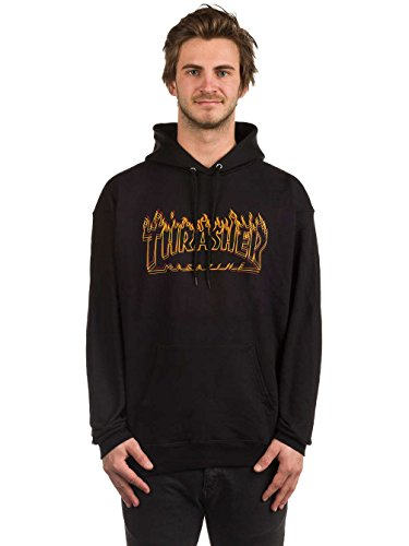 Thrasher Richter black Sudadera con capucha Tamaño L