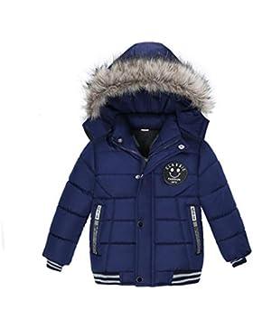 Zarupeng Abrigo cálido para niños,Ropa Niño Invierno Sudadera con Capucha Abrigo De Algodón Engrosamiento Chaqueta