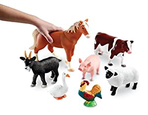 Learning Resources Jumbo Farm Animals
