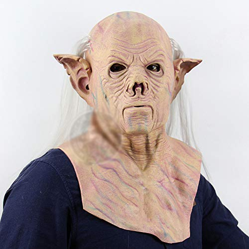 Halloween Alien Pharaoh Alien Scary Máscara De Látex De Cabeza Completa Halloween Bar Casa Embrujada Dress Up Props