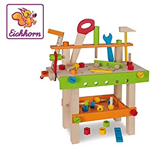 Eichhorn 100001844 Juguete de construcción Juego de construcción - Juguetes de construcción (Juego de construcción, Multicolor, 3 año(s), 49 Pieza(s), Niño/niña, Niños)