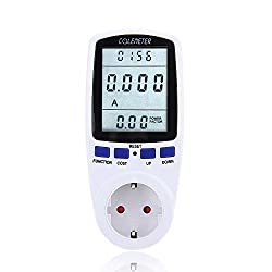COLEMETER Energiekosten Messgerät Intelligente Stromzähler Energy Cost Meter Verbrauchsmessung Watt Volt Zähler Stromverbrauch Steckdose Strommesser