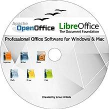 Apache Open Office & Libre Office 2019 Ultima edizione completa per TUTTI Windows e mac | Alternativa a Microsoft Office: compatibile con Word, Excel e PowerPoint