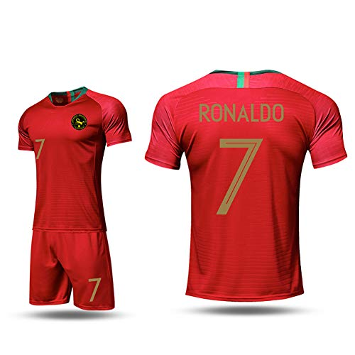 Portugal C Ronaldo # 7 Jersey Set - Camiseta Pantalones