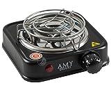 AMY Hot Turbo SX-A500 500W Elektrischer Kohleanzünder für Shisha Kohle