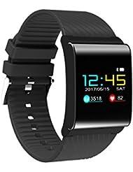 Diggro DB-01 Smart Bracelet Bluetooth 4.0 IP67 Écran OLED Coloré Moniteur de Fréquence Cardiaque Oxygène Sanguin Pression Artérielle Sommeil Rappel Call& Message pour Android et iOS