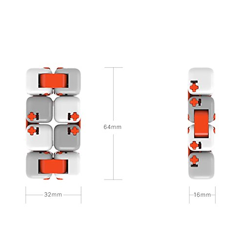 Zantec Regalo di Compleanno Original Xiaomi MITU Cubes Spinner Finger Bricks Giocattoli Intelligenti Intelligenza Fidget Magic Cubes Infinity Toys Ansia da Stress - 5