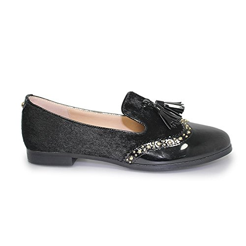 Lunar, Mocassini donna nero Black Black