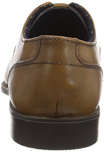 Ben Sherman Roman B, Chaussures à Lacets Homme Beige (Cow Burnish Tan)