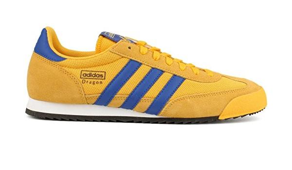 adidas dragon jaune bleu