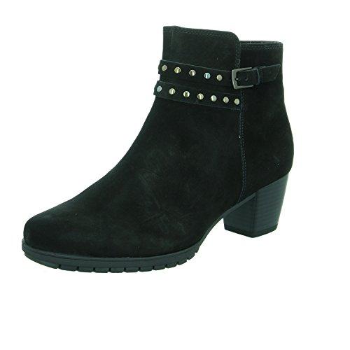 Gabor - Damen Stiefeletten - Schwarz Schuhe in Übergrößen, Größe:42