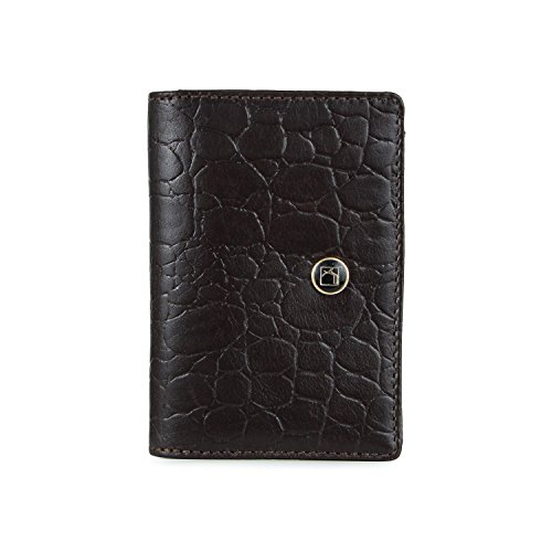 Da Milano Brown Men's Wallet (CEC-303BROWNCRO)  available at amazon for Rs.824