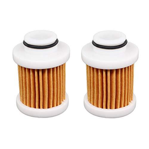 AISEN Lot de 2 filtres à carburant pour Yamaha 30-115 Hp 4-Stroke 6D8-24563-00-00 6D8-WS24A-00-00 600-297