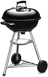 Weber 47Cm Compact Grill W/Therm Black Asia