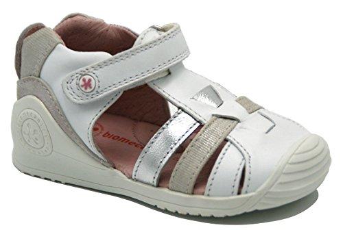 Garvalín Baby Mädchen Lauflernschuhe Weiß Weiß, Weiß - Weiß - Größe: 24 EU (Kinder Schuhe Garvalin)