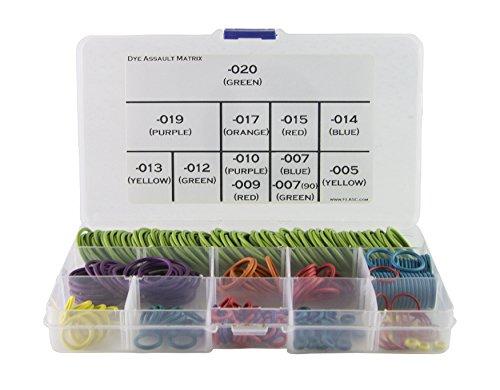 Dye Assault Matrix (Dam) Deluxe Farbe gekennzeichnet O-Ring Kit w/300+ O von Flasc Paintball