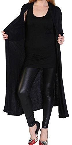 Mitch ® Ladies Womens PLUS SIZE Maxi Cardigan Open Front Floaty Abaya Style Kimono Cardigans Tops 8-26