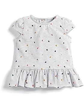 Mamas & Papas Baby-Mädchen Kleid Heart Print Jersey Dress