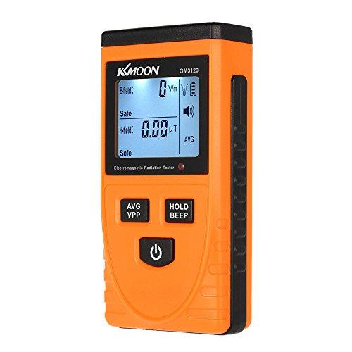 KKmoon Elektromagnetische Strahlung Detektor Haushalt Digital LCD