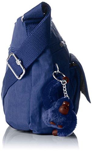 Kipling Syro, Borsa a Tracolla Donna Blu (Jazzy Blue)