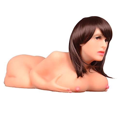 FIZZENN Realistische lebensgroße Sexpuppe für Männer mit Vagina und großer Brust von hinten Doggy Style Pussy und Ass Liebespuppe für männlichen Masturbator