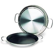 Lacor 60236 - Paellera valenciana antiadherente, 36 cm, 7 raciones