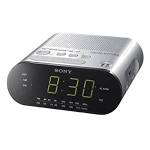 Sony ICFC218S Clock Radio (Silver) (discontinued by manufacturer)