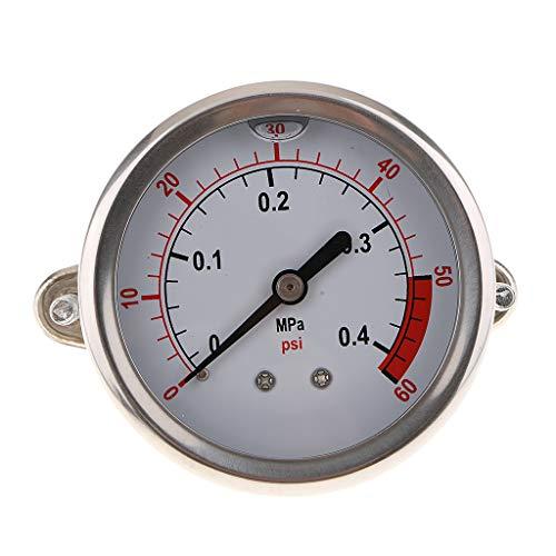 Edelstahl Manometer Für Messen von Überdruck oder Unterdruck - als Bild 0.4mpa -