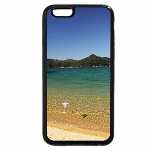 iPhone 6S / iPhone 6 Case (Black) Tranquil Beach.