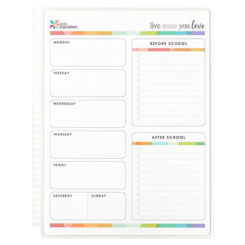 Erin Condren Snap-In Teacher Armaturenbrett (Adressbuch 4x6)
