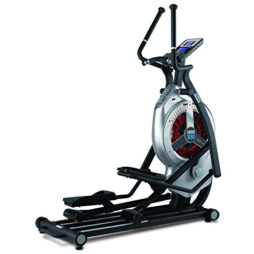 BH Fitness i.CROSS1000 Crosstrainer - Stride length 53cm - Magnetic and Air resistence - HIIT by BH Training programs - i.Concept by BH - G872I