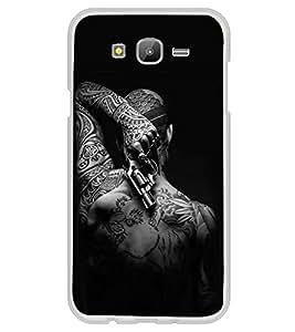 ifasho Designer Back Case Cover for Samsung Galaxy On5 (2015) :: Samsung Galaxy On 5 G500Fy (2015) (Gun Tattoo Quezon City Philippines Hardoi )