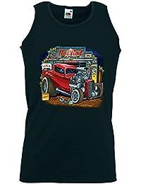 Rockabilly Tank Top débardeur Hot Rod Garage Zündkerze Vintage V8