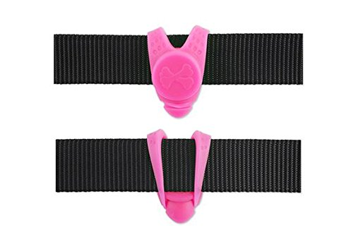 Ancol Soft Blinker Hi Vis Water Resistant Dog Collar Lead Safety Flashing LED Light Pink 2