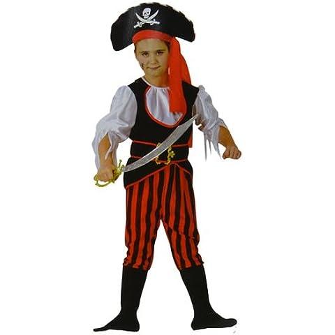 Disfraz de pirata para niños y niñas (PIR-01) 4 a 6 años