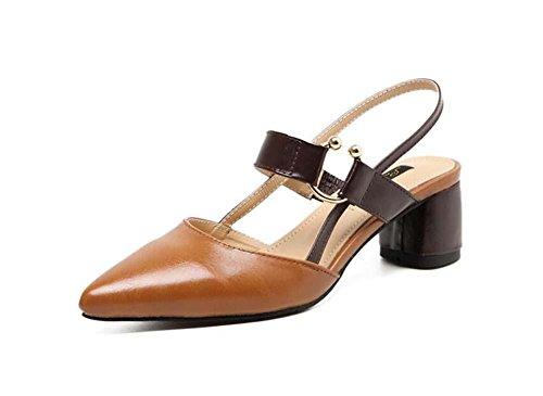 pumpe-chunkly-heels-slingpumps-sandalen-metallschnalle-ol-schuhe-lassige-schuhe-frau-mode-charmant-s