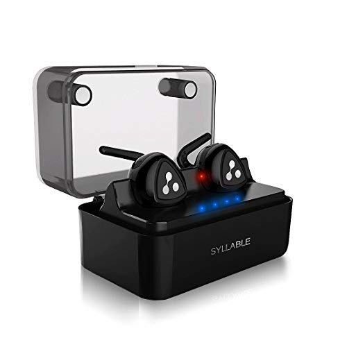 Auricolari Bluetooth Stereo In Ear Senza Fili, Auricolare Bluetooth Mini con Custodia e...