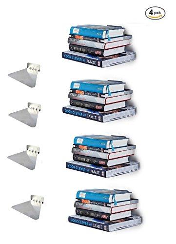 Ducomi® - Estante invisible para libros, ideal para decorar la casa con...