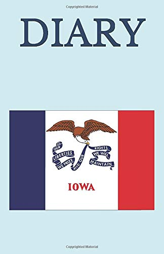 DIARY: USA Iowa Flag