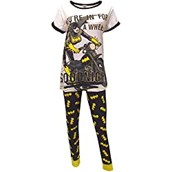 Batgirl DC Comics Goodnight Pijamas de Las señoras, 46-48