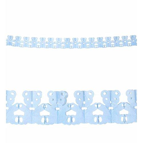 WIDMANN?Guirnalda de papel oso azul 3metros