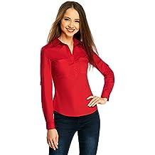 negozio online 6d0ed 257b5 Amazon.it: camicia rossa donna - Spedizione gratuita via Amazon