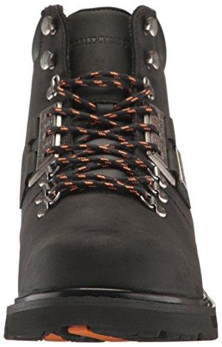 Harley Davidson Mens Templin Leather Boots noir/noir