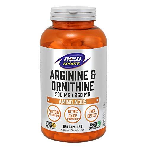 Now Foods Arginine/Ornithine Standard, 250 Kapseln
